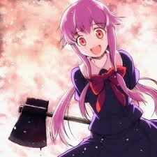 I'm somewhat sad some people haven't put her as an answer...but, then and again, who'd think a bipolar, stalking little killer girl is cute? Gasai Yuno from Future Diary.