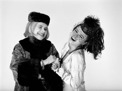 Helena Bonham Carter's birthday is on Mat 26th. And the lady in the picture with her is her mom.