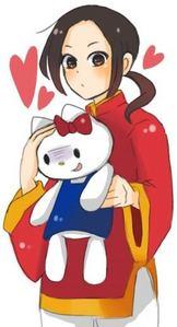 Hello Kitty. They're kawaii,aru~8D