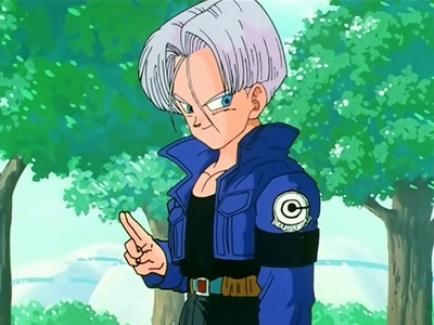 Trunks is awesome. And that I Liebe him... ♥