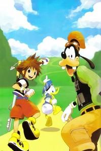 Anime, Manga, ps2, ds games.....like kingdom hearts, sonic, dragonball and yugioh. music....like an-cafe, green day, van canto and many other things