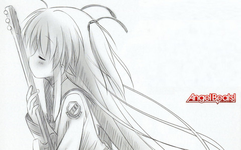 Yui from Angel Beats