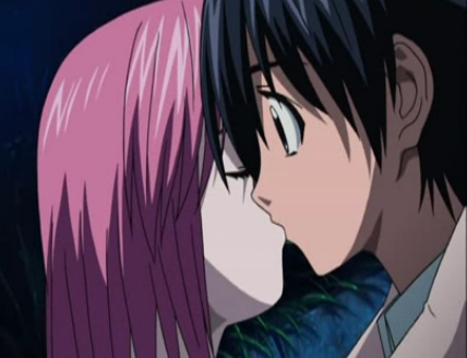 Lucy and Kouta. <3