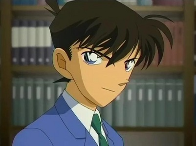 I do like Shin-kun as Conan,but actually if he wasn't fed the mysterious substance sejak the Black Organization..he wouldn't be Conan in the first place,anyway I prefer Shinichi as Shinichi (if that made sense)