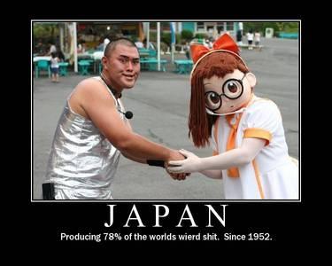 It was Japan's fault.