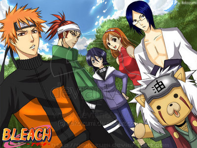 Naruto/Naruto Shippuden and Bleach... ^^'