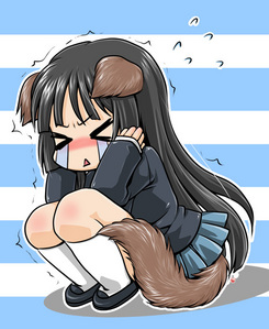 I have, like, forty pictures of cute Mio's <.< Hmm let's see.... I think this one's cutest