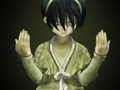 Tv cartoons: I'm very close to Toph from Avatar the last airbender Animes: Soul Eater Evans,Shura Kirigakure and L (Death Note) are all VERY VERY close to my personality.