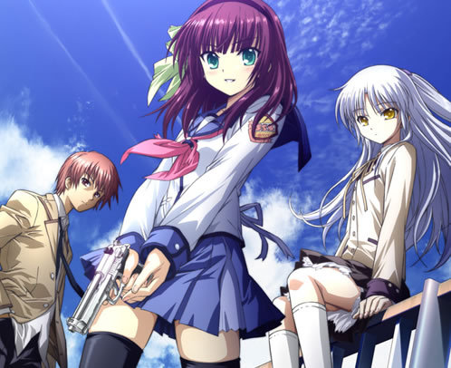 "I don't have loyalties towards any one anime; my loyalty lies with عملی حکمت as a whole; but, I do have one عملی حکمت that I consider very special to me (due to how it changed my life), ""Angel Beats!"""