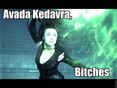 no bạn should do what bellatrix does...