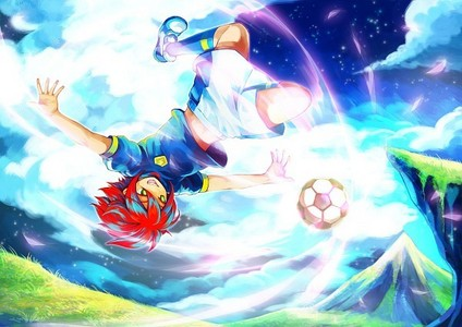 Right now inazuma Eleven