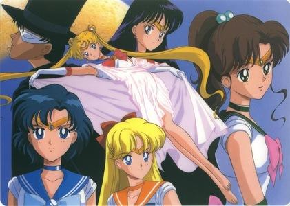 Sailor moon!!!!! :D