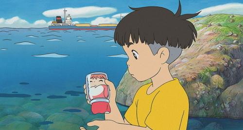 Sousuke and Ponyo XD