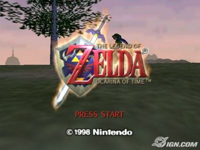 Mine was Ocarina of Time on the N64, i got it for christmas when i was 4 and ive beat it 16 times since then!!!
