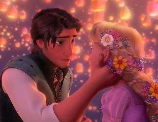 """Yeah I know its same as the other member posted, but I just love the whole latern scene and the almost kiss! Not to mettion I love """"I See The Light"""" as really expressed what Eugene & Rapunzel felt for each other. It was the very first scene they were finally able tell each other how they really felt. u can just tell door their emotions that they are already deeply in love with one another. This scene gives goosebumps everytime! I also loved the scene in tower they tell each other that they are each others new dream, though its sad."""