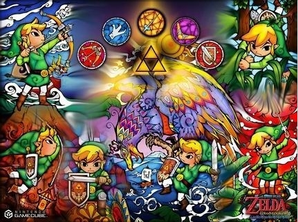 mine was phantom hourglass! at first i thought toon link was the original style link, and when i saw other games (ocarina of time, twilight princess) i didn't recognize it as a zelda game! (oops!) but i get it now...but prefer toon link slightly coz he's the one i 1st knew!