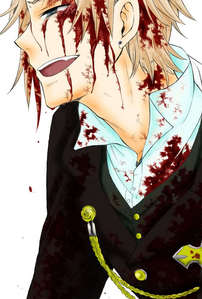 """I'm sorry Leo"" Those were Elliot Nightray's last words DX I cried so hard!!! Although, this was only in the manga version of Pandora Hearts but Elliot himself was in the anime. If it has to be an actual part from an anime I can change it."