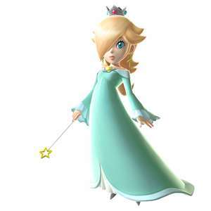 Rosalina from Mario ...or maybe i shoulda put Mona oder Roxan?