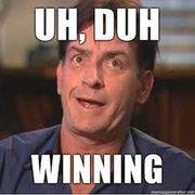 I just won a bowling tournament! So i'm HAPPY!