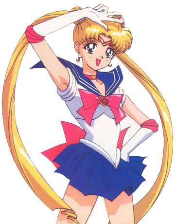 "there could never be a character that fits me better than usagi from sailor moon! we are like twins :) we are both crybabys, and very caring. plus we have the same name in the english dub, ""serena"" i act exactly like her and we have the same body type, hair color, eye color, same everything! i swear, she is the anime version of me :D"