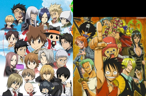 I'd want to live in the Katekyo Hitman Reborn! world au in the One Piece world (if I could just jump back & fourth between the 2 -& maybe some others- that would be totally awesome lol)