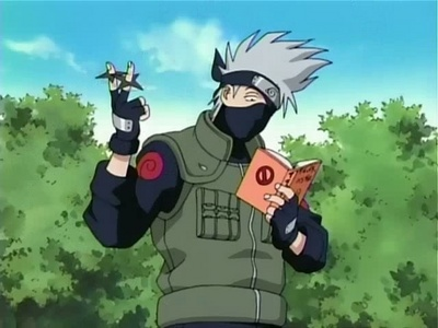 kakashi from naruto and Roy mustang from FMA. :D :D :D :D :D :D