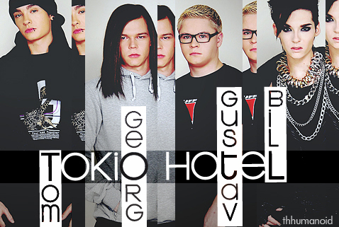 wewe can tell kwa my username-im totally obsessed with Tokio Hotel!!!! they are the best band in history!!!