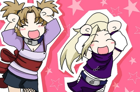 Alright how about this one of Ino-chan and Temari!^^