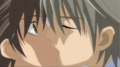 =w= I [b]love[/b] every single Misaki x Usagi kiss.