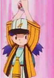 For me,it's definitely Nanako-chan (Casey) from Pokemon,I Know were almost exactly alike,especially when it comes to our cinta for baseball,we wear our teams gear almost all the time,not only that but she throws a monster(Poke) Ball,as if she's pitching(which is something) I used do..when I had a toy Pokeball!,and when it comes to watching the sport of Baseball,we can get very loud cheering for our team!,but the only difference is the fact she's a girl and I'm a guy and that I lack her purple hair.
