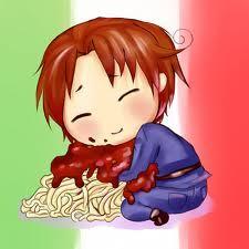 Italy from Hetalia. Pastaaaaaaa XDDD