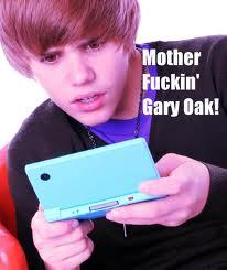 "its juston bieber holding a dsi with a ""wtf"" look on his face and saying ""motherfuckin gary oak!"" best picture of life. XD"