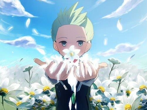 Cilan from pokemon black and white