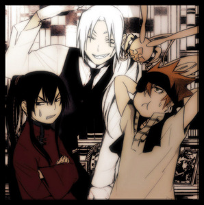 This is Yu Kanda, Allen Walker, and Lavi (3 of my fave characters from D-Grey Man)