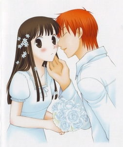 Kyo and Tohru :3