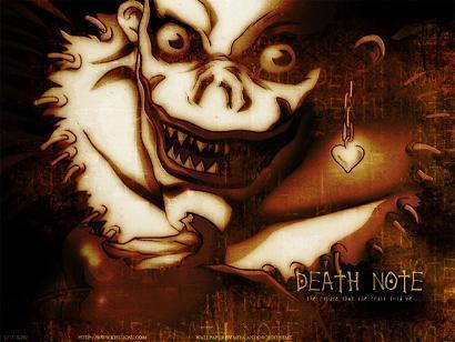 people who used the Death Note neither go to heaven nor hell- Ryuk