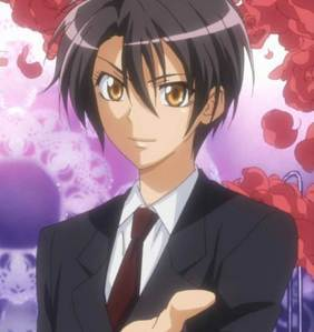 misaki from maid sama!!! though she is a girl she is independent and behaves like a boy!!she has a nice personality:)