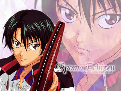 the prince of tennis... RYOMA ECHIZEN!!!