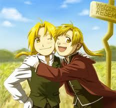 The Elric Brothers from Fullmetal Alchemist