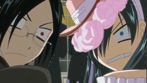 this episode is the funniest one ive ever seen<3 nd i love this picture! CIEL AS A GIRL!!!!!! stil so cute!