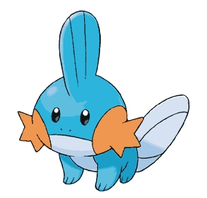 WHOA DUDE. I just now realized that Mudkips remind me of the number 3. And they're pretty symmetrical. MUDKIPS ARE NOW MY お気に入り POKEMON. (They were before anyway so あなた know...) Yes i liek teh mudkips.