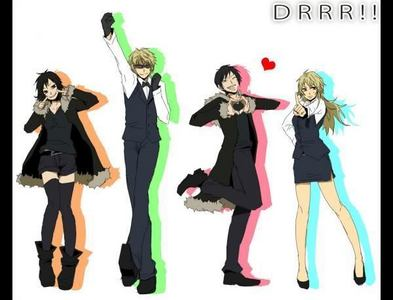 How about Izaya and Shizuo?