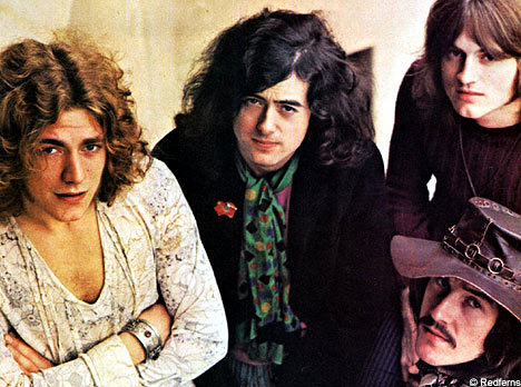 Led Zeppelin. david bowie too but i can only post one pic