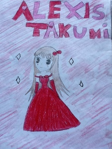 does my own manga count her name is alexis takumi