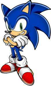 SONIC THE HEDGEHOG CLUB OF COURSE! I AM A SONIC LOVER!
