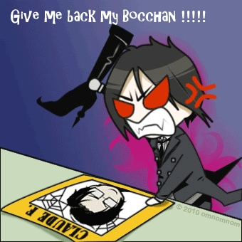 Bocchan not boccah. Bocchan is a Japanese term that is equal to master या lord.