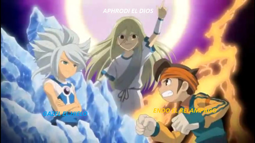 gazel(left) has white hair and aphrodi(middle) has blond hair