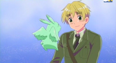 I guess England from Hetalia. I mean, it would be pretty awesome to be him!