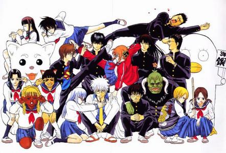 Gintama!!! XOXOXO <3