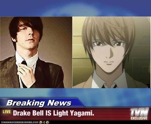 ڈریک گھنٹی, بیل = Light Yagami